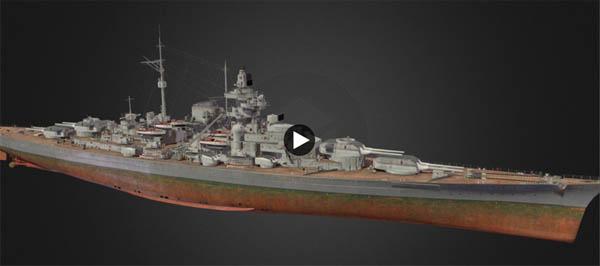 Bismarck 3D