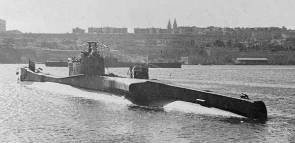 A T class in Malta, 1943