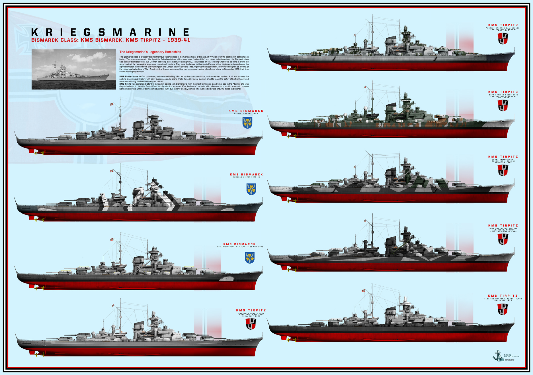 Bismarck class - Click to purchase