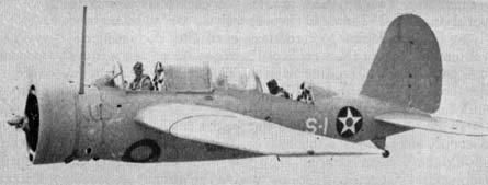 Brewster SBN-1 in flight