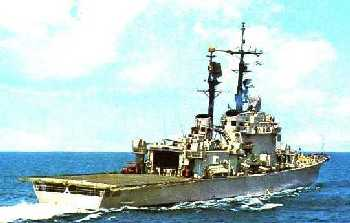 Caio Duilio of the Doria class helicopter cruiser