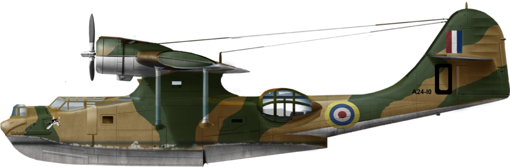 Catalina IV D for Dagwood, N°11 Sqn Fleet Air Arm