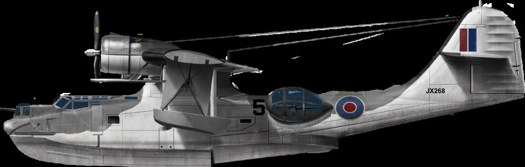 Catalina Mk.IVA of 302 Squadron Fleet Air Arm