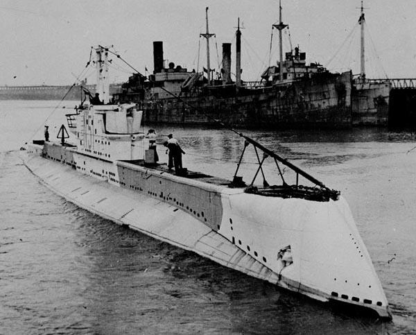 HMS Otway (1931) camouflaged during ww2