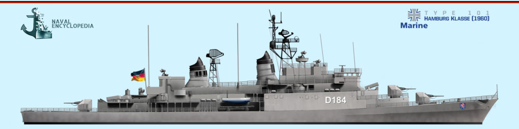HS rendition of the Hamburg class