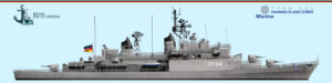 Type 101 Hamburg class destroyers (1960)