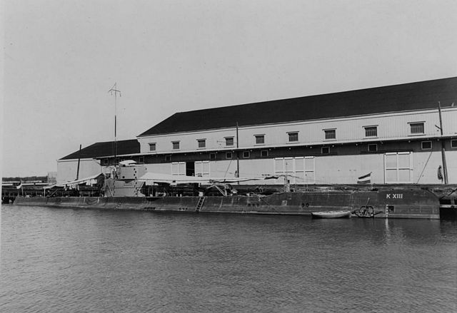K XIII as completed in 1926