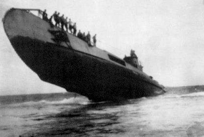 O 19 running aground
