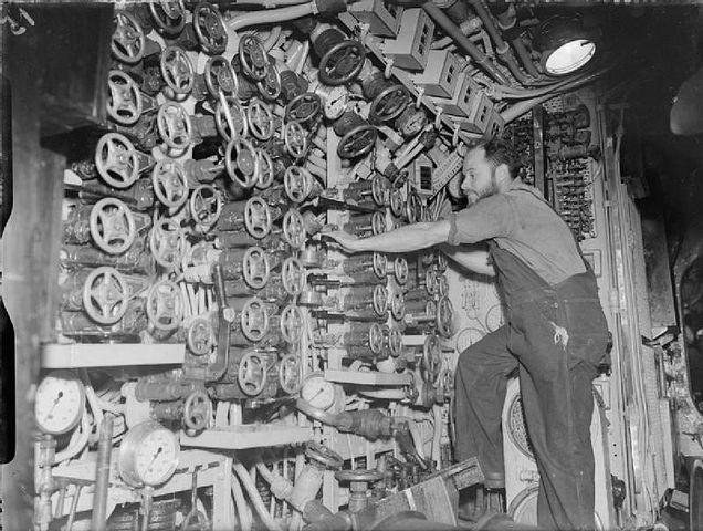 Inside HMS Osiris