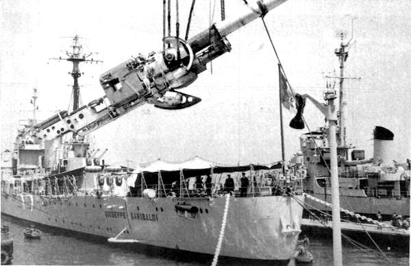 Modernization of the Garibaldi