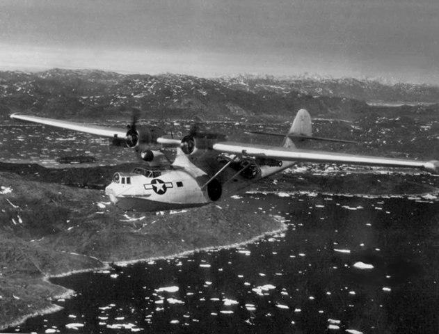 PBY-5A_VPB-6-CG_over_Narssarsuak_Greenland_1945