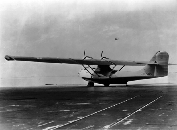 The prototype XP3Y-1 NAN7-61 in 1936