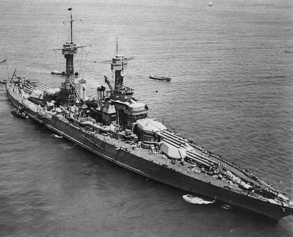 USS Tennessee in the 1920s