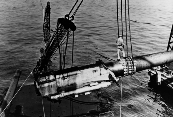 Removal and replacement of USS California