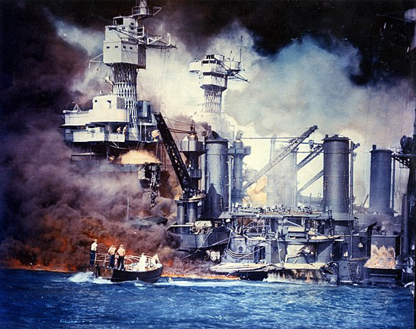 Pearl Harbor attack: Tennessee is behind