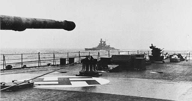 Admiral Scheer in 1942