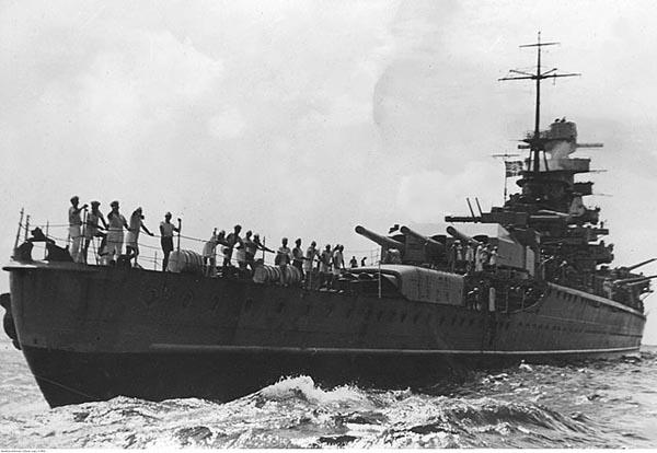 Stern view, September 1941