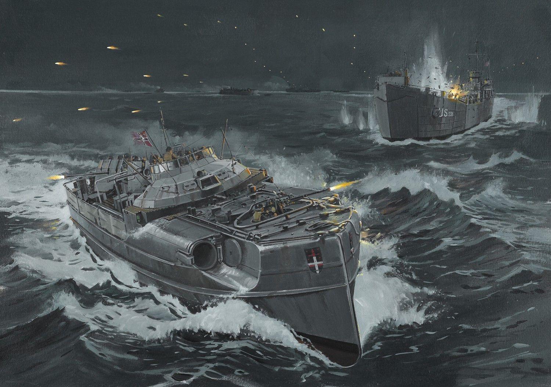 Battle of Lyme Bay 28 April 1944