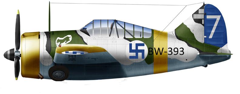 Brewster B-239 of LeLv 24 in 1943