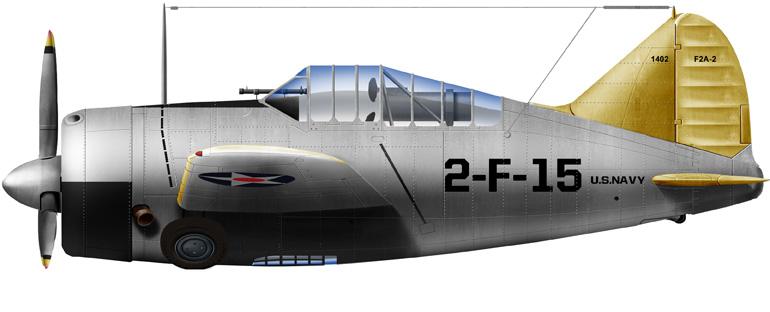 Brewster F2A-2, VF2