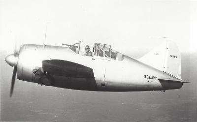 Buffalo prototype XF2A-2