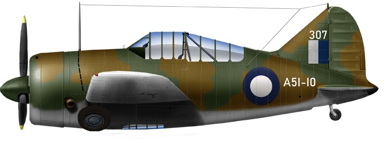 B-339-23 of the 25th Squadron RAAF in Western Australia, September 1942