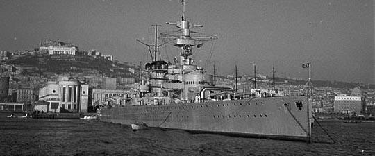 Here in Naples in 1938