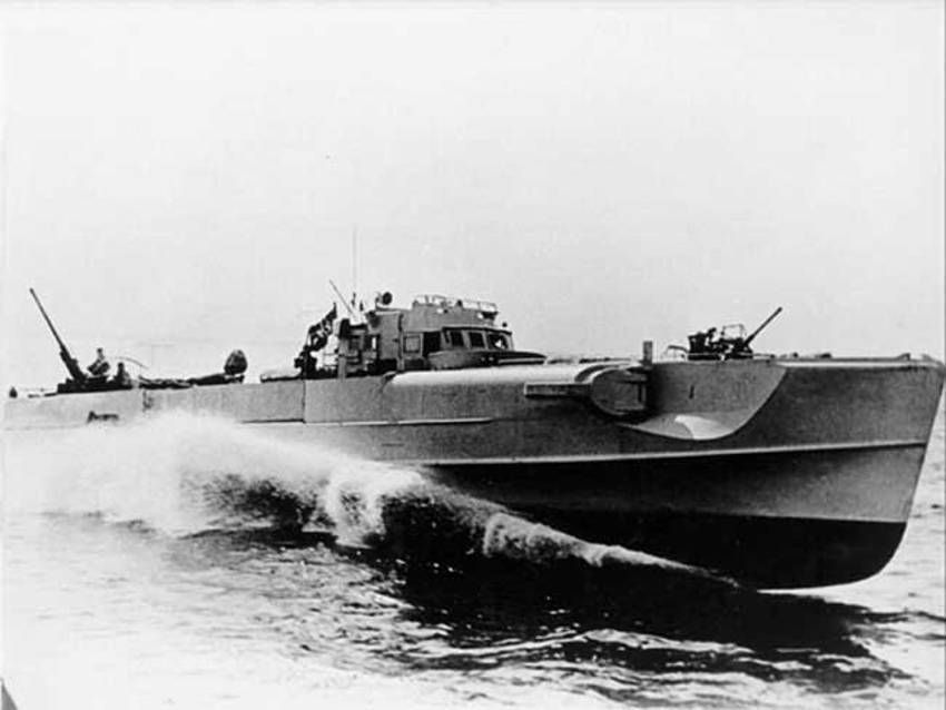 S-Boat high speed