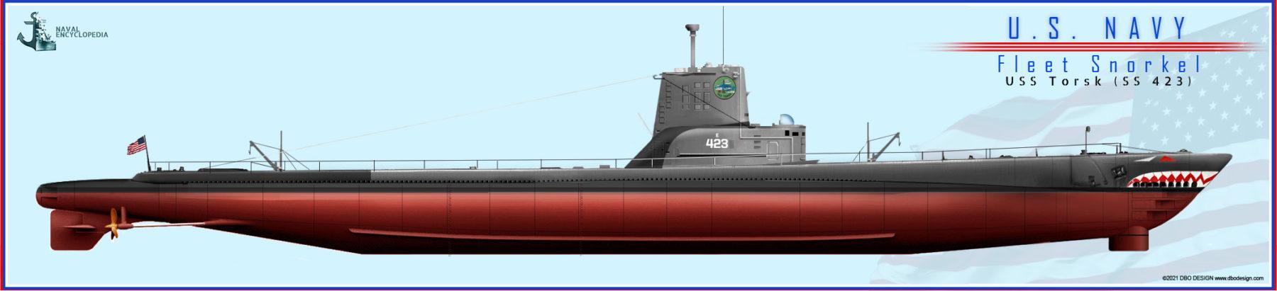 Fleet Snorkel USS Torsk