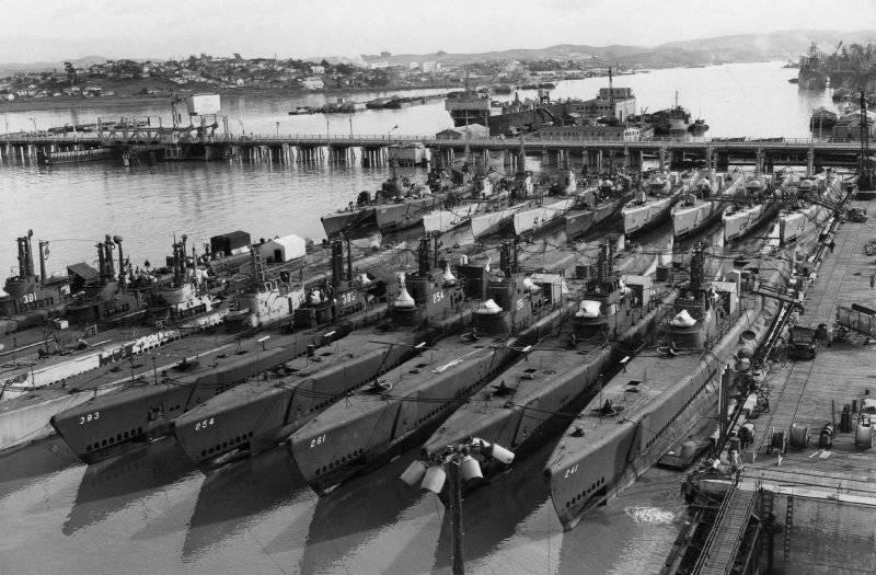 GATO-class-Submarine-fleet