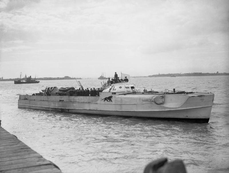 German E-Boat S-204 surrenders at Felixstowe