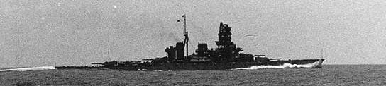 IJN Haruna underway in 1940