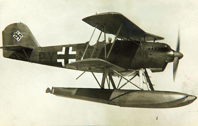 Heinkel He 60 floatplane