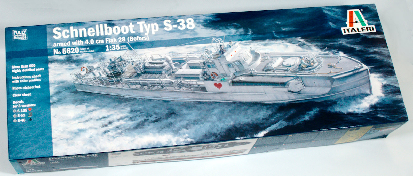 Italeri made the S-38 and S-100