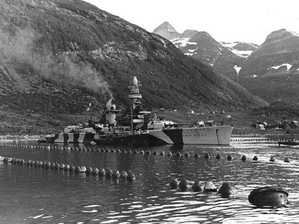 Lützow in 1942