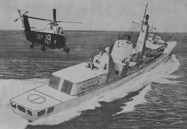 DDL from Navy News, September 1972