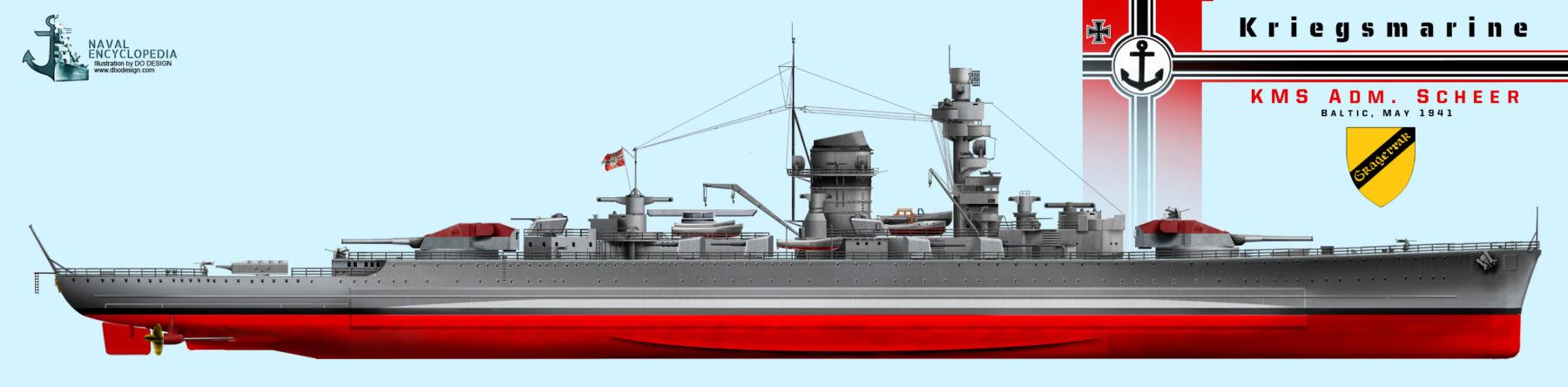 KMS Admiral Scheer, May 1941