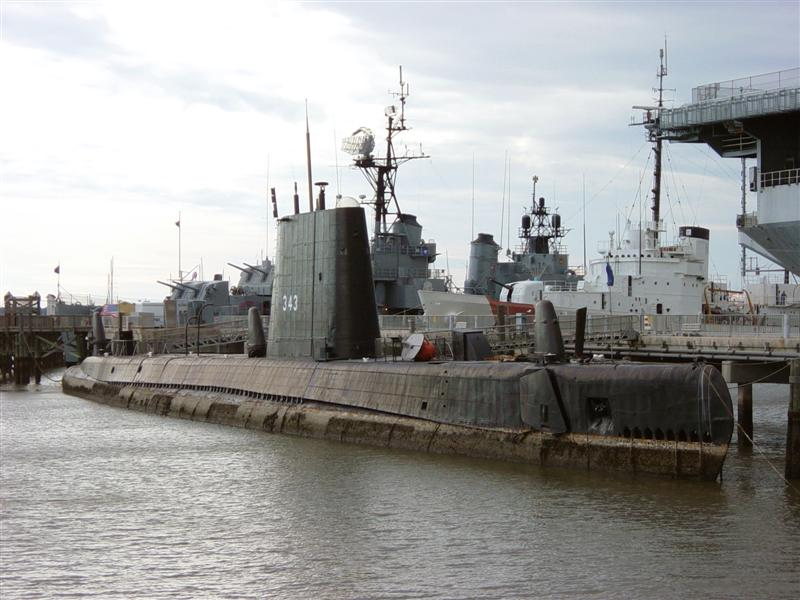 USS Clamagore, a GUPPY-III boat