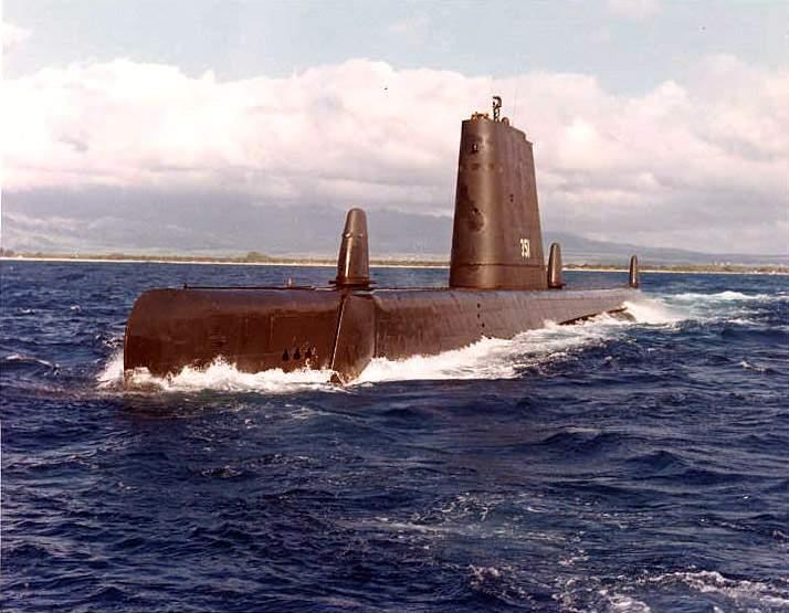 USS Greenfish, a GUPPY-III