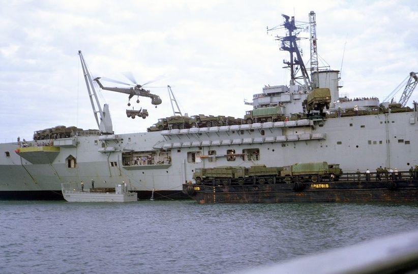 HMAS Sydney as a troop transport in Vietnam, 1969