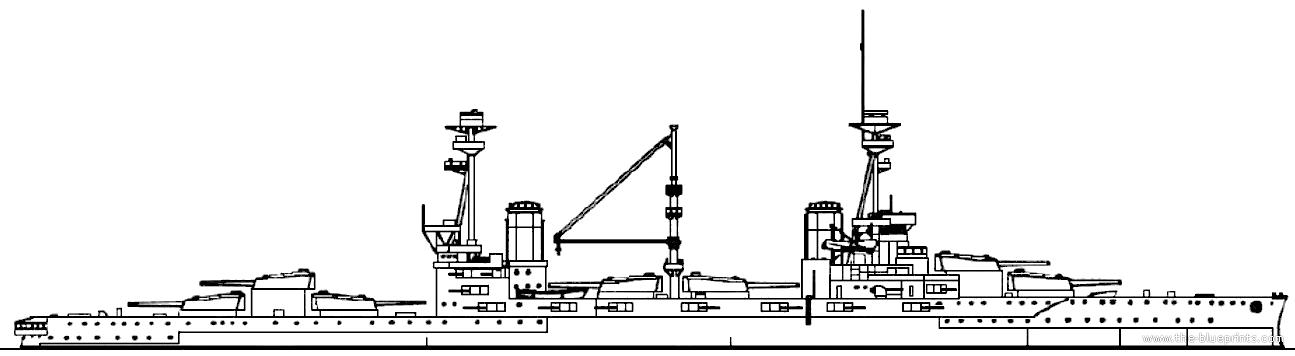 HMS Agincourt in 1915