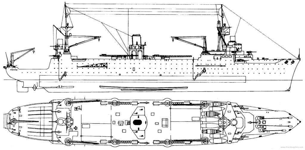 Commandant teste seaplane carrier