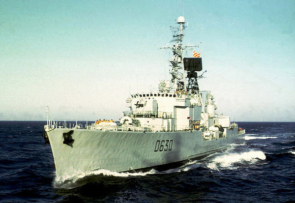 The Du Chayla after refit in the late 1970s