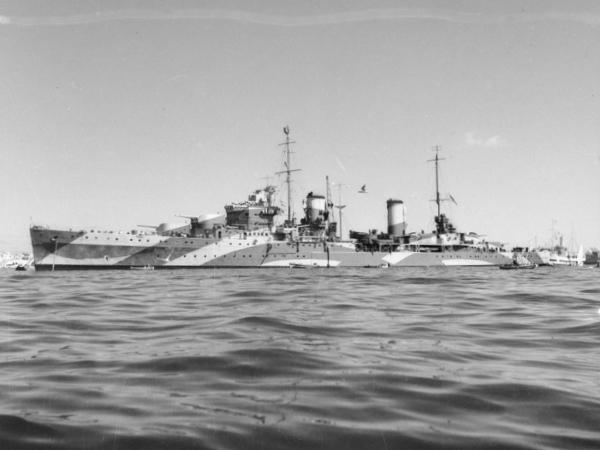 HMAS Perth in April 1941