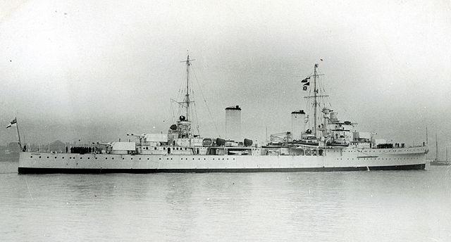 HMAS Sydney as built