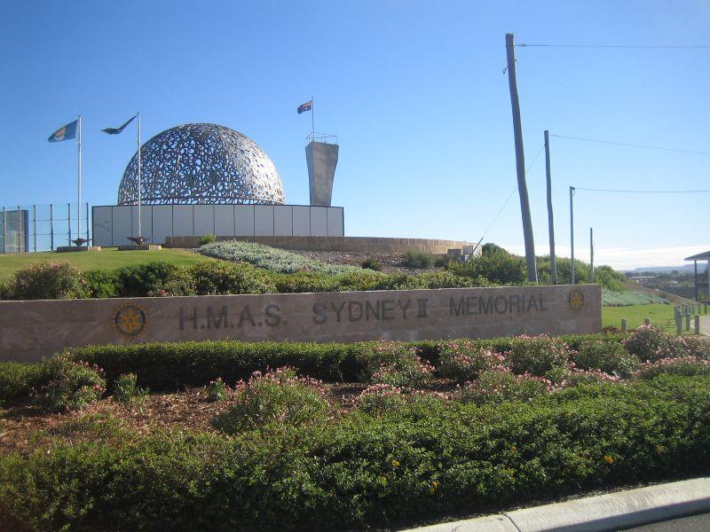 HMAS Sydney's Memorial on mount Scott, Geraldton