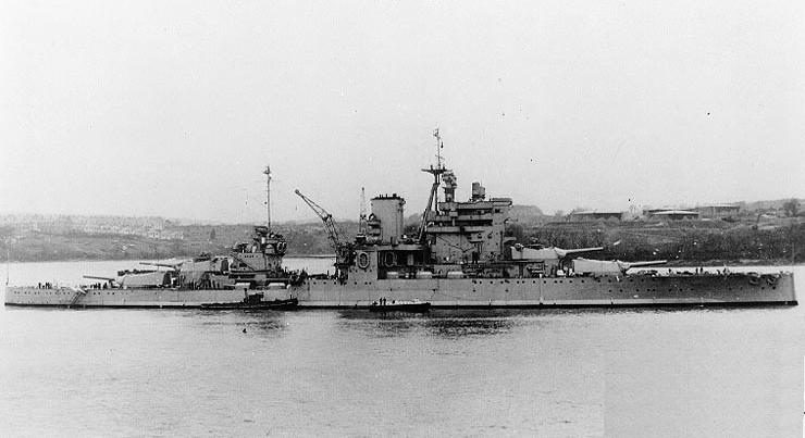 HMS Valiant in 1939