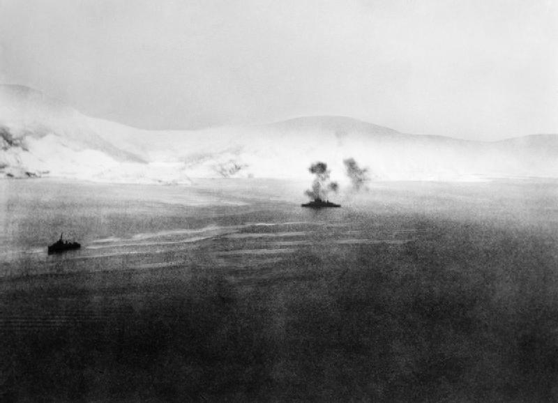 warspite in norway