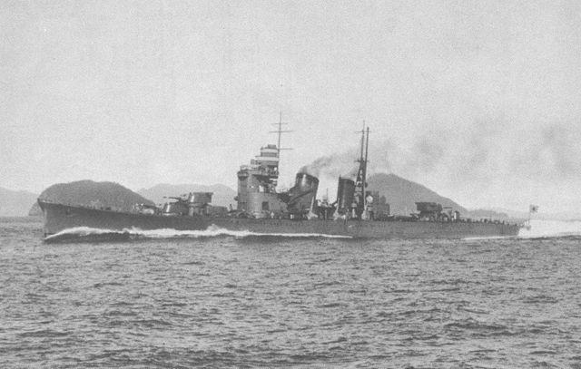 Nachi's sea trials in 1929