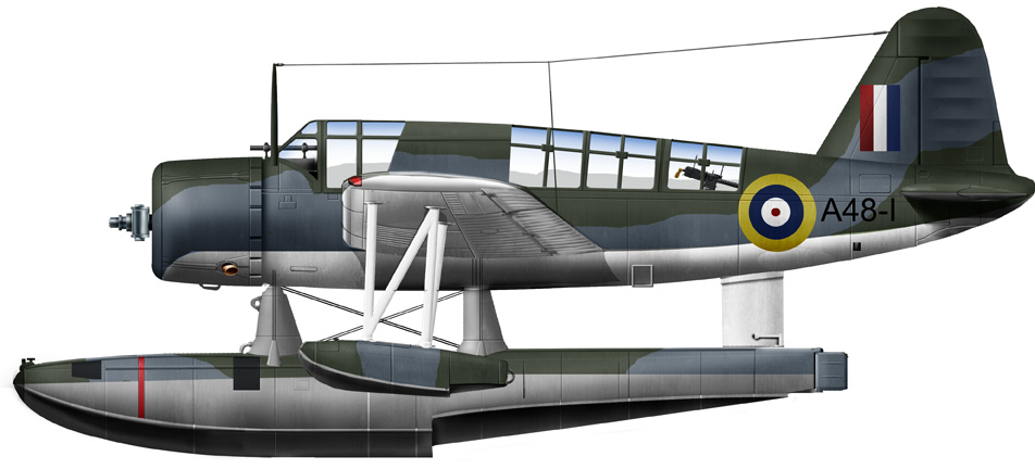 The first Kingfisher of the RAAF